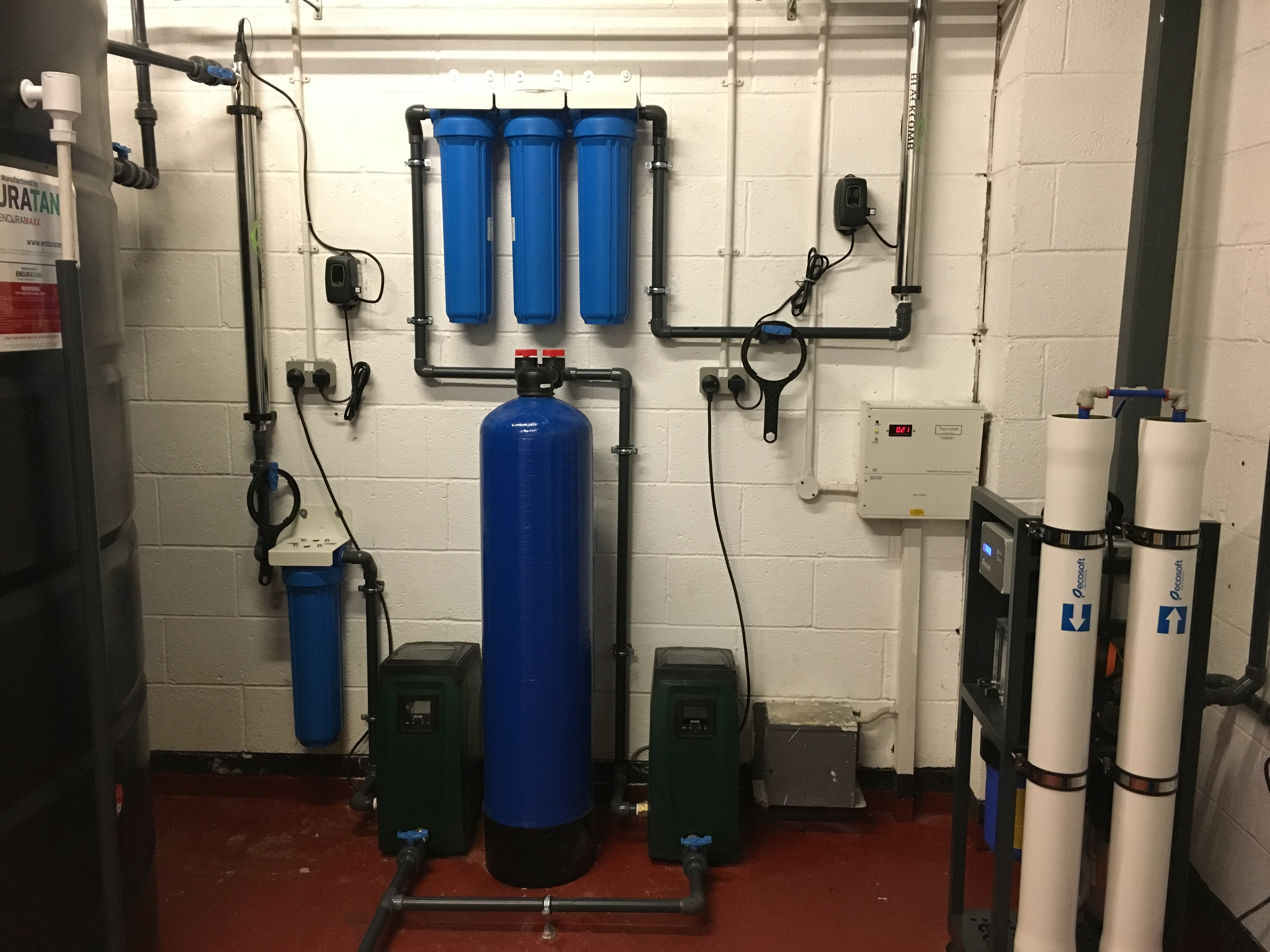 Bespoke Water Treatment System For A Food Production Plant